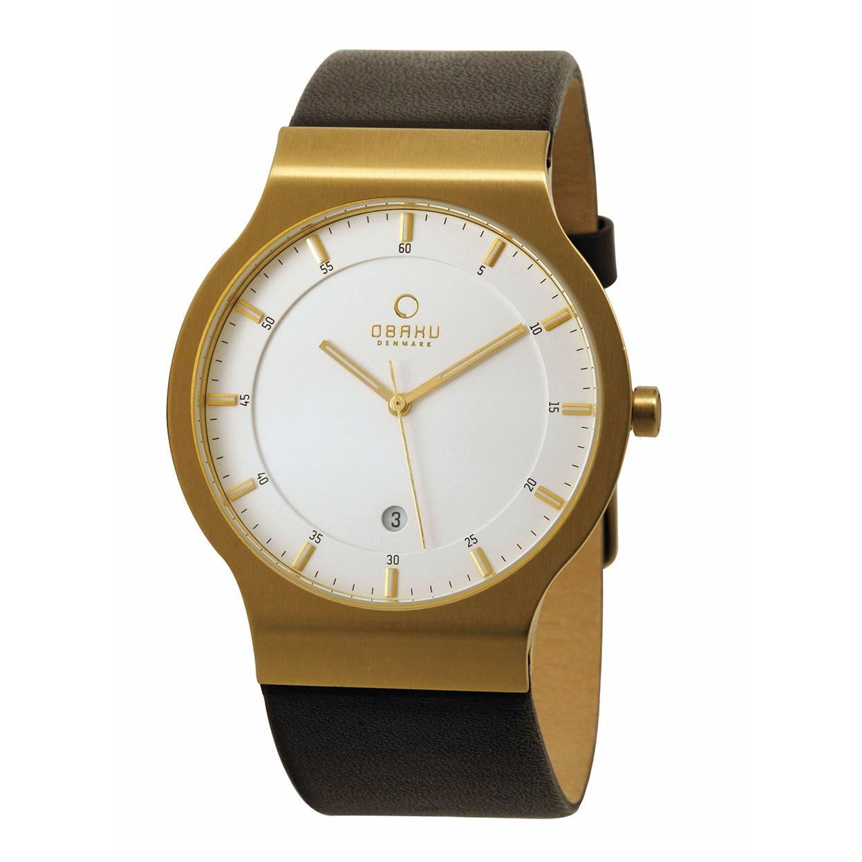 Zegarek Obaku V133XGIRN - grawer na stalowej kopercie