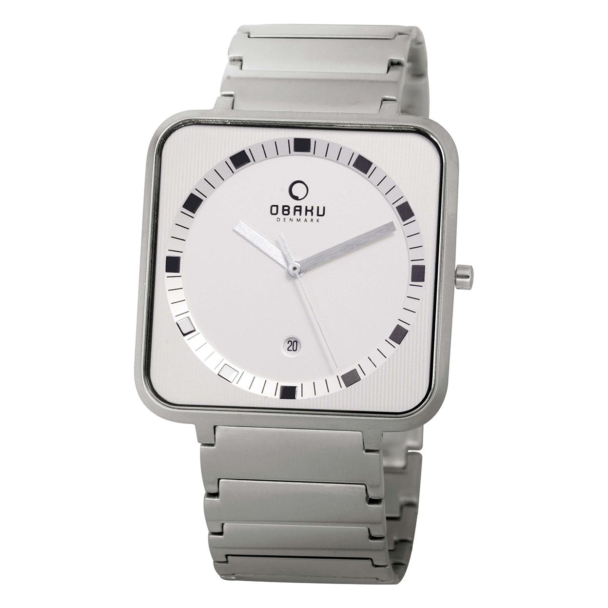 Zegarek Obaku V139GCISC - grawer na stalowej kopercie
