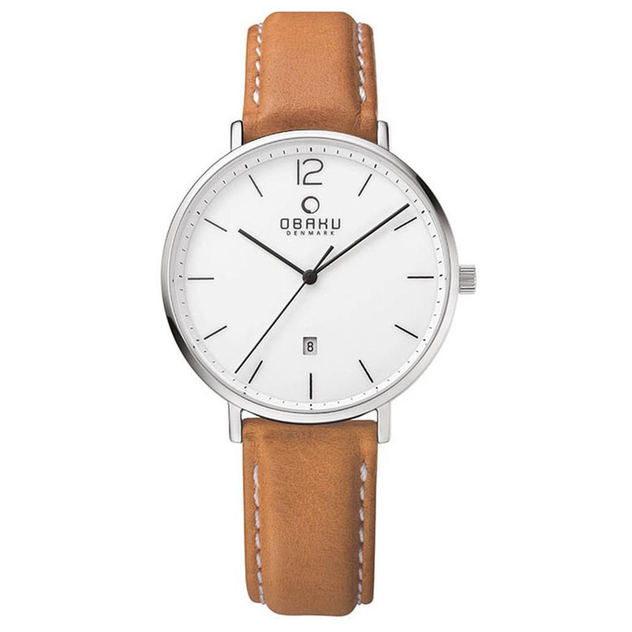 Zegarek Obaku V181GDCWRZ - grawer na stalowej kopercie