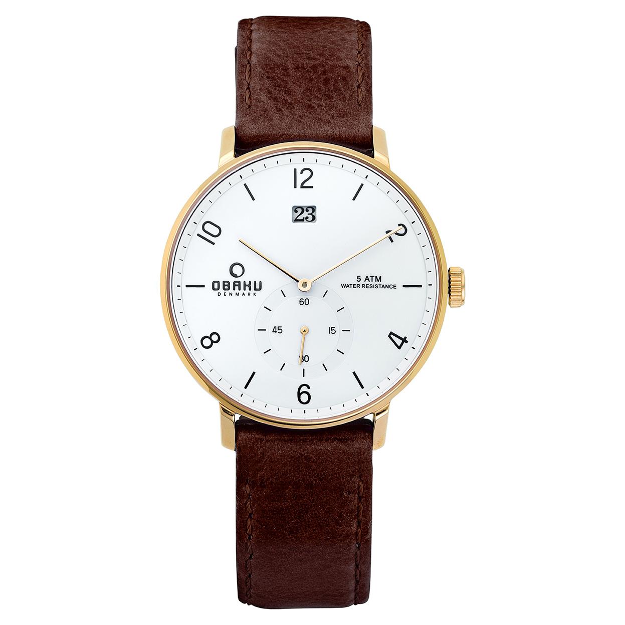 Zegarek Obaku V190GDGWRN