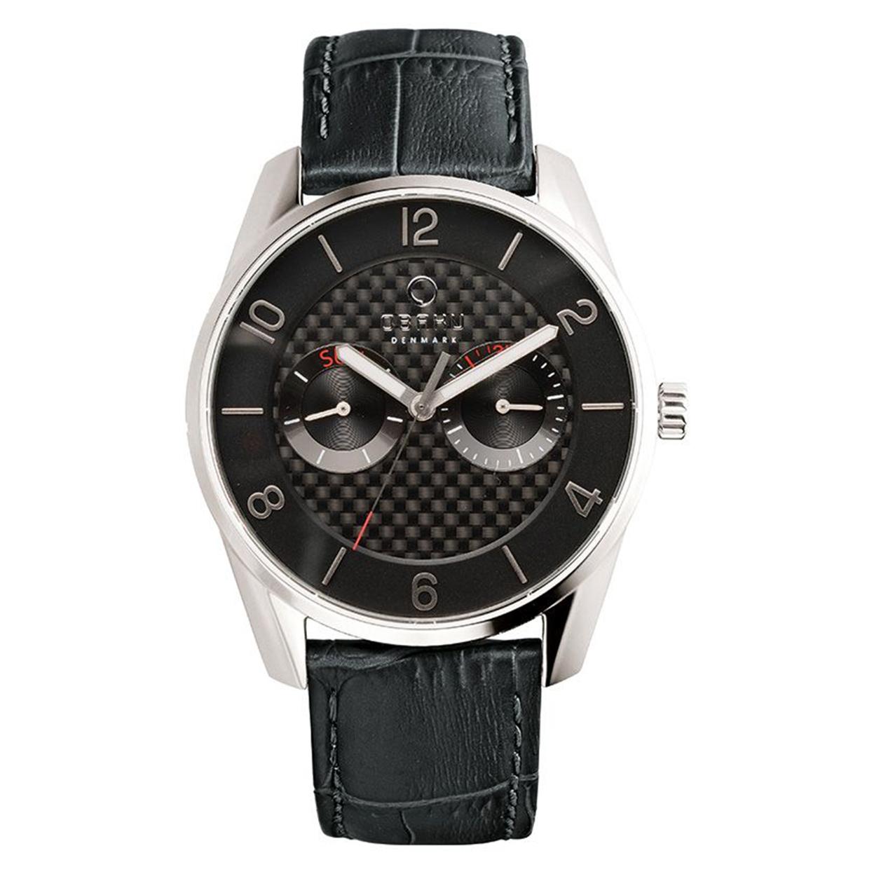 Zegarek Obaku V171GMCBRB - grawer na stalowej kopercie