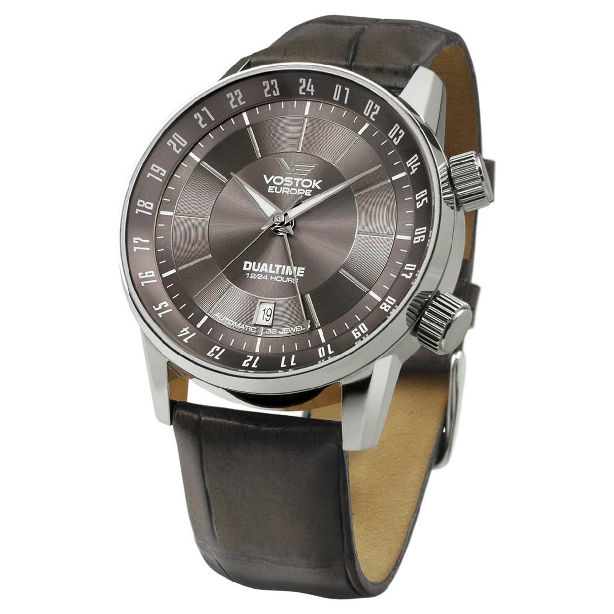 Zegarek Vostok Europe 2426-5601058 - grawer na stalowej kopercie