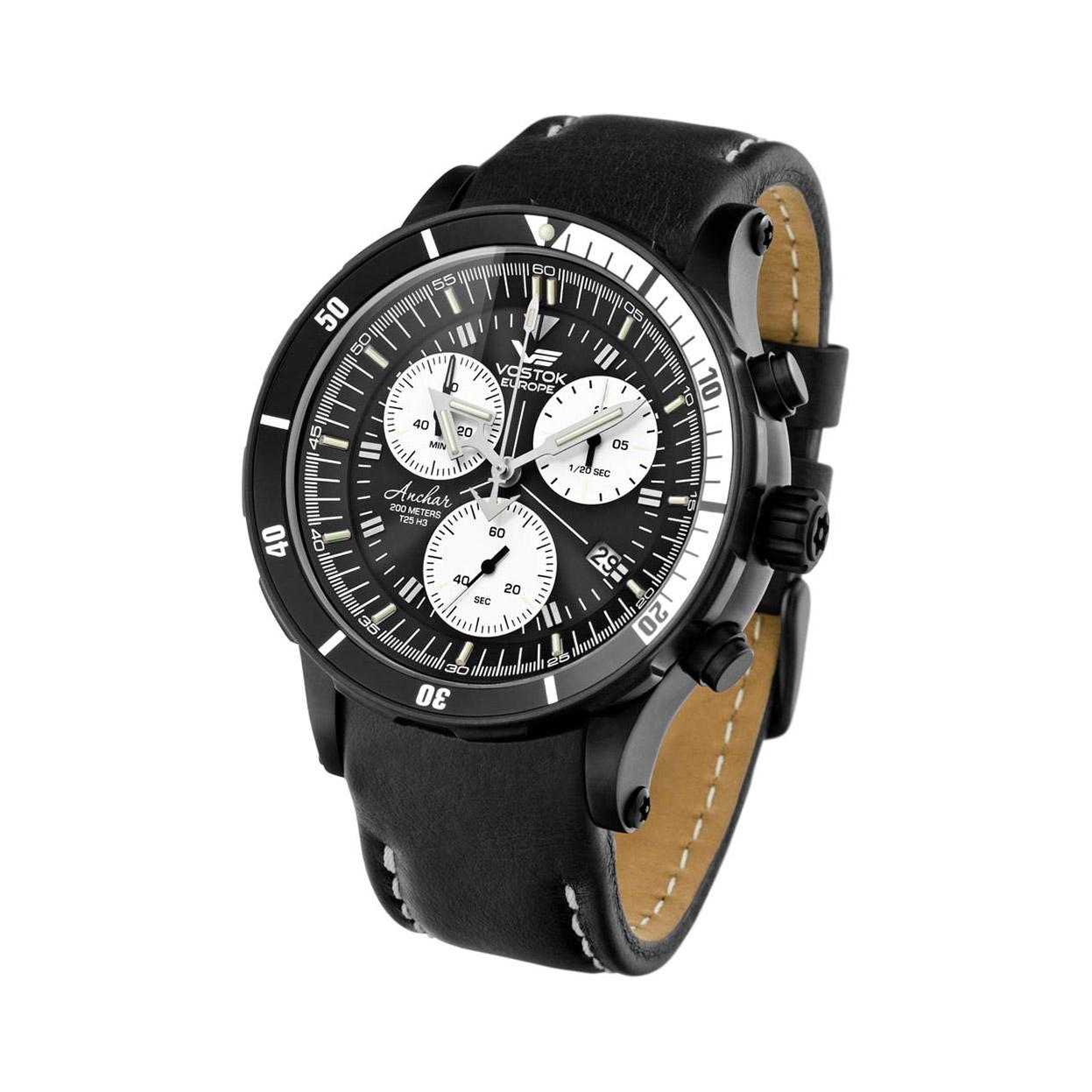 Zegarek Vostok Europe 6S30-5104184 - grawer na stalowej kopercie