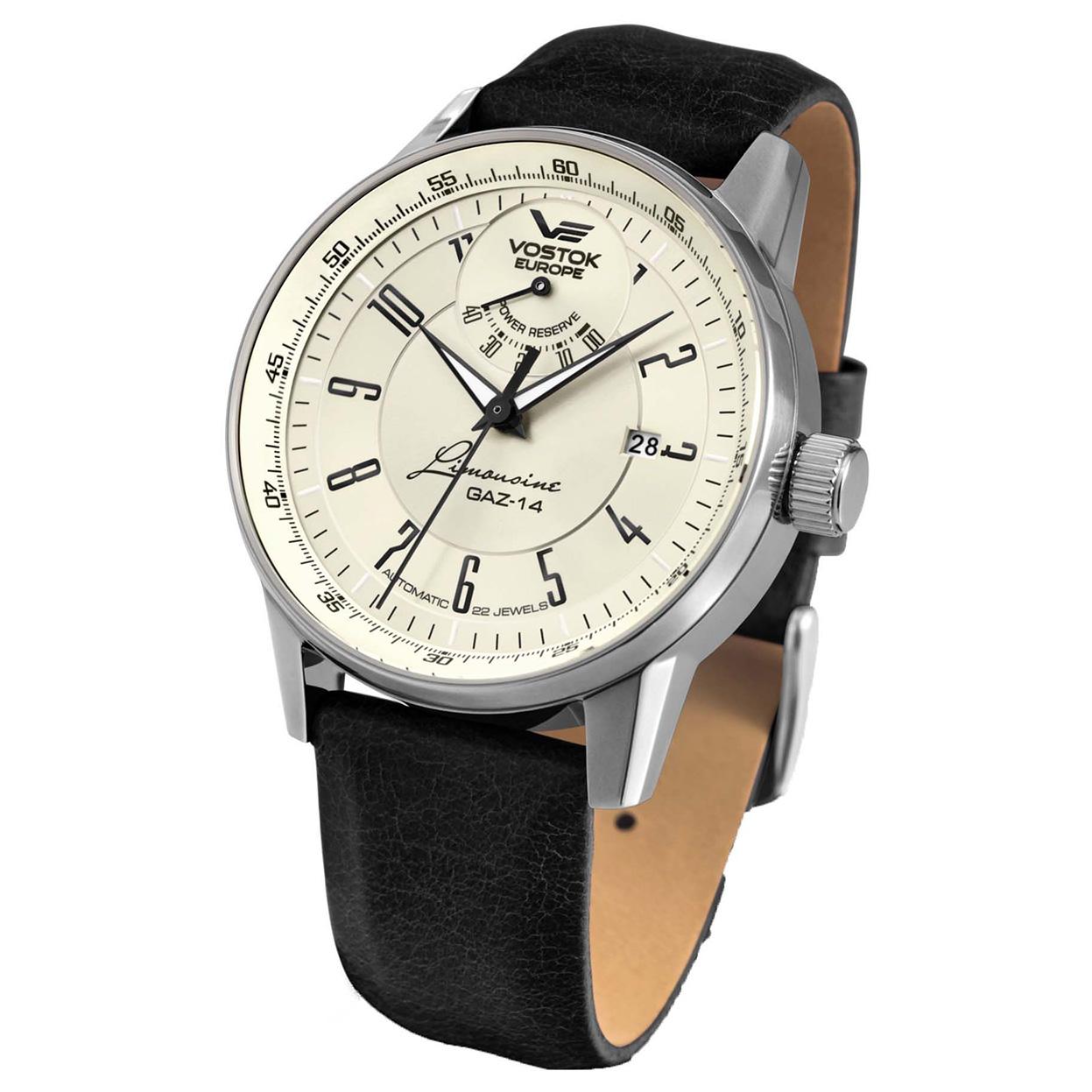 Zegarek Vostok Europe YN85-560A518 - grawer na stalowej kopercie