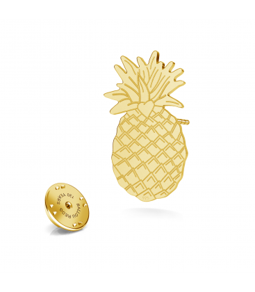 Pineapple lapel pin 925 - ARÔME