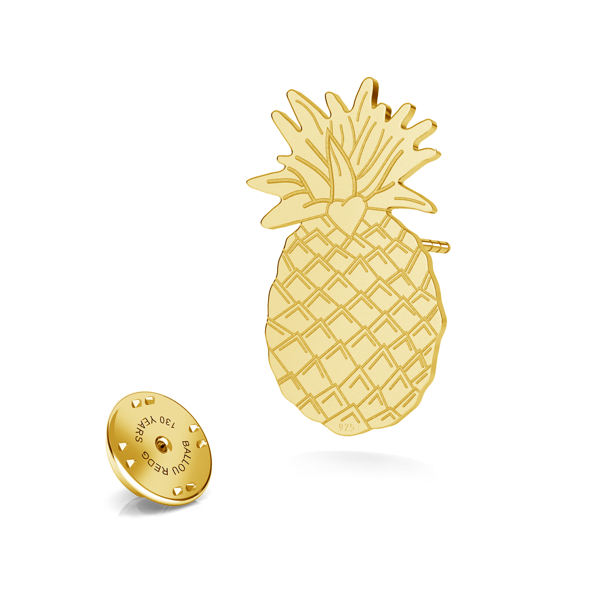 Ice cream lapel pin 925 ARÔME