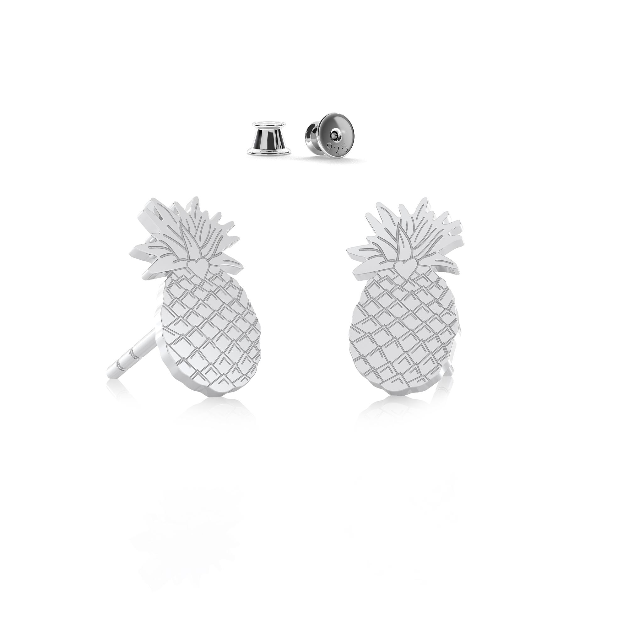 Ice cream earrings sterling silver 925