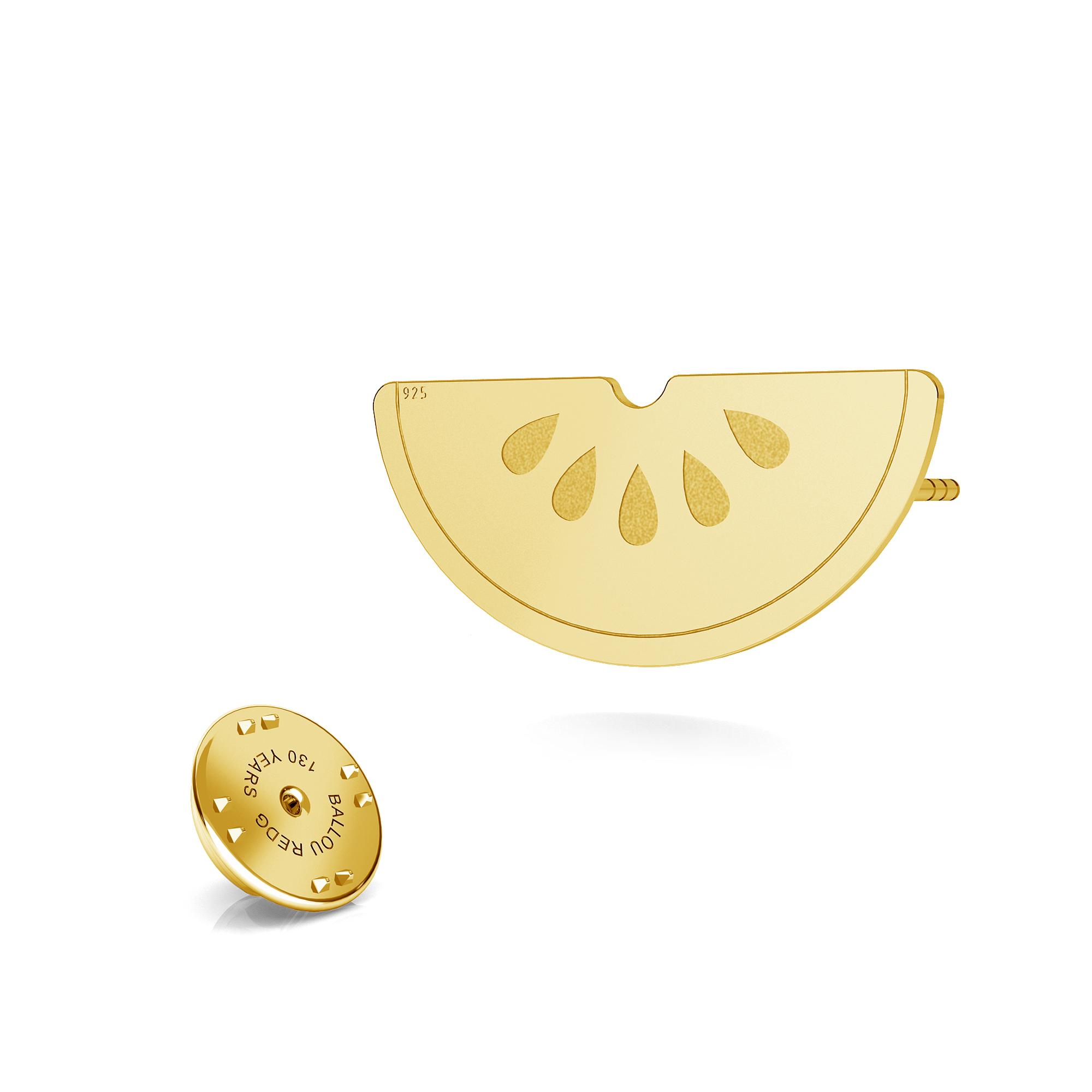 Pineapple lapel pin 925 - ARÔME