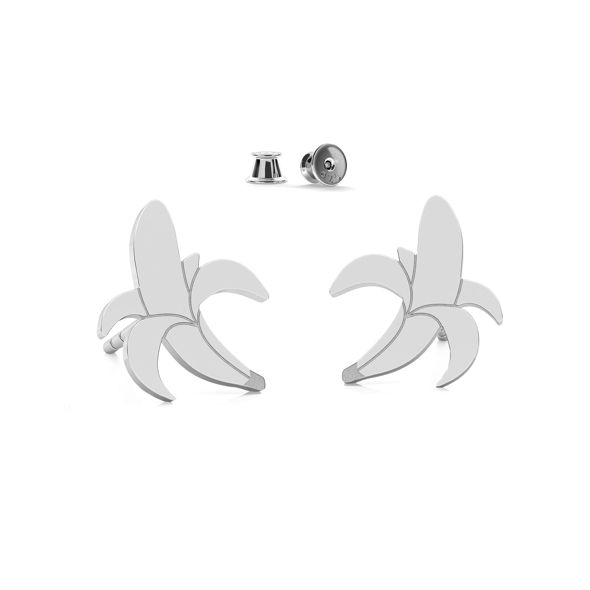 Cupcake earrings sterling silver 925 - ARÔME