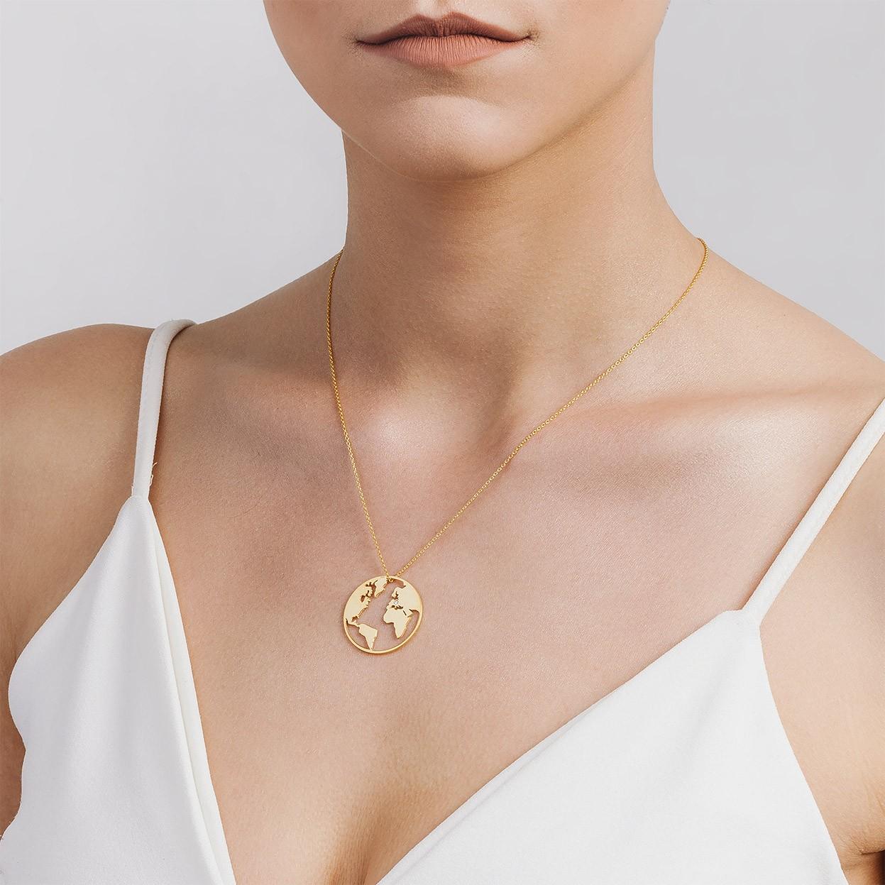 Corazón swarovski collar grabado plata