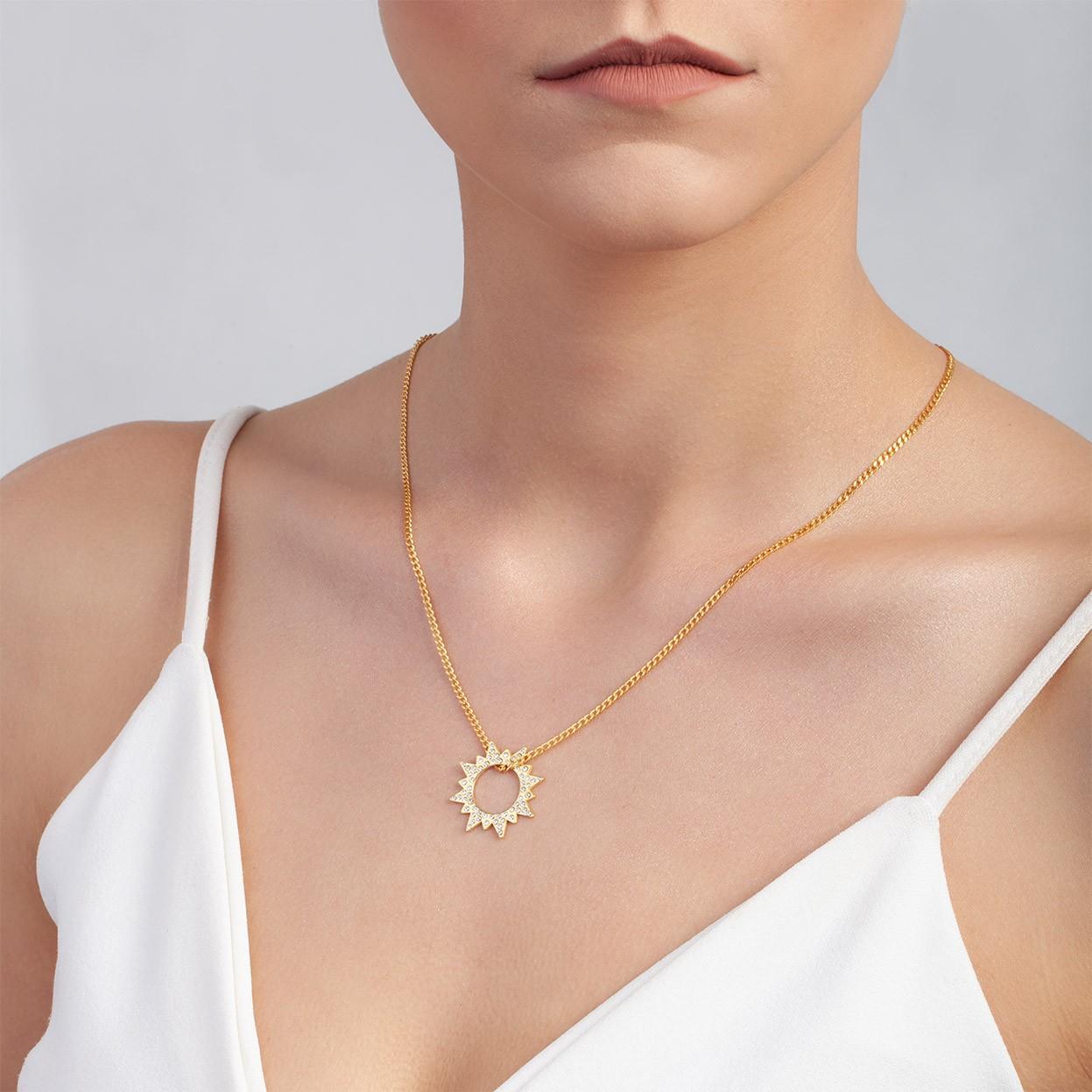 Swarovski MOND medaillon halskette silber 925