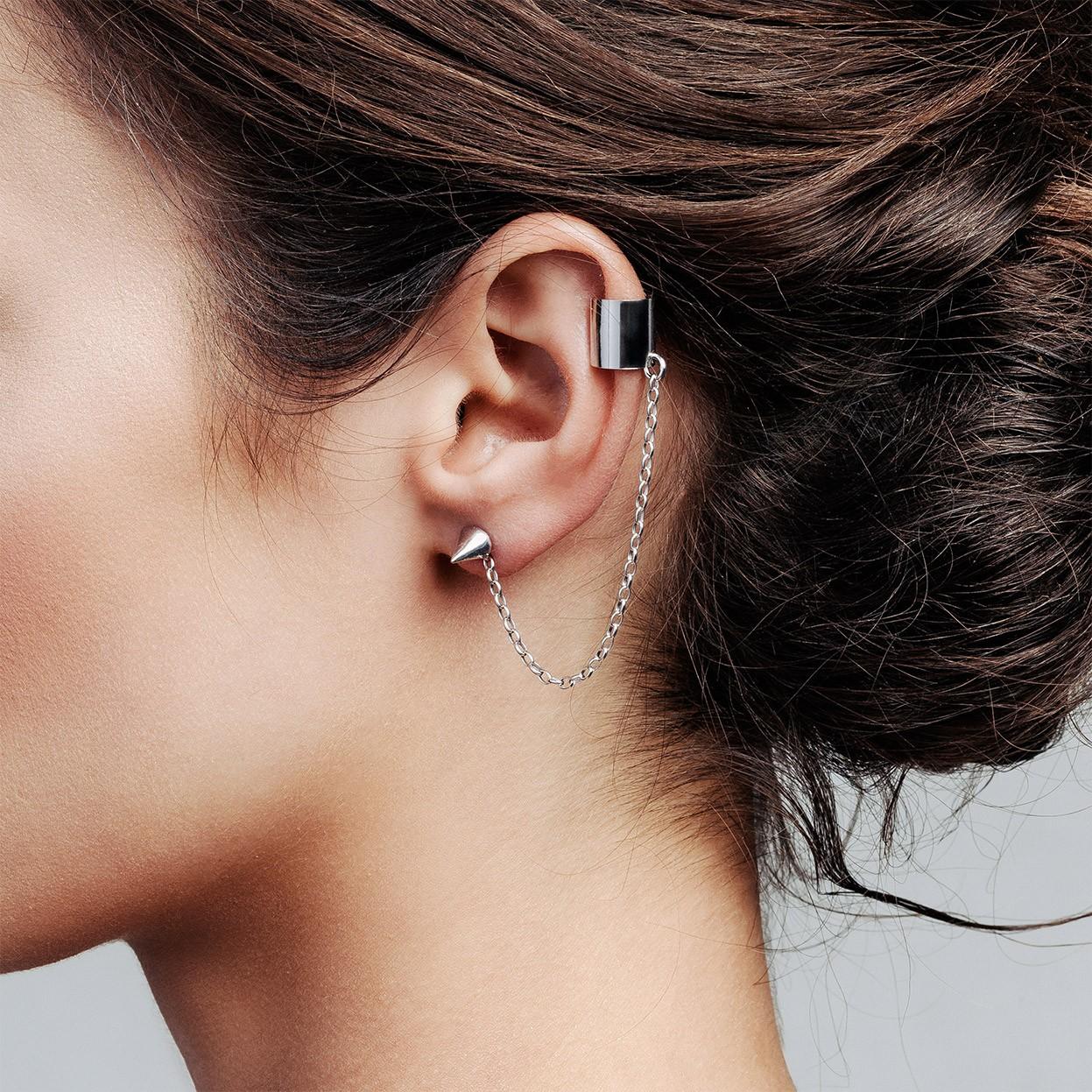 Carrot earrings sterling silver 925 - ARÔME