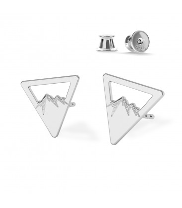 MOUNTAINS earrings MON DÉFI sterling silver 925