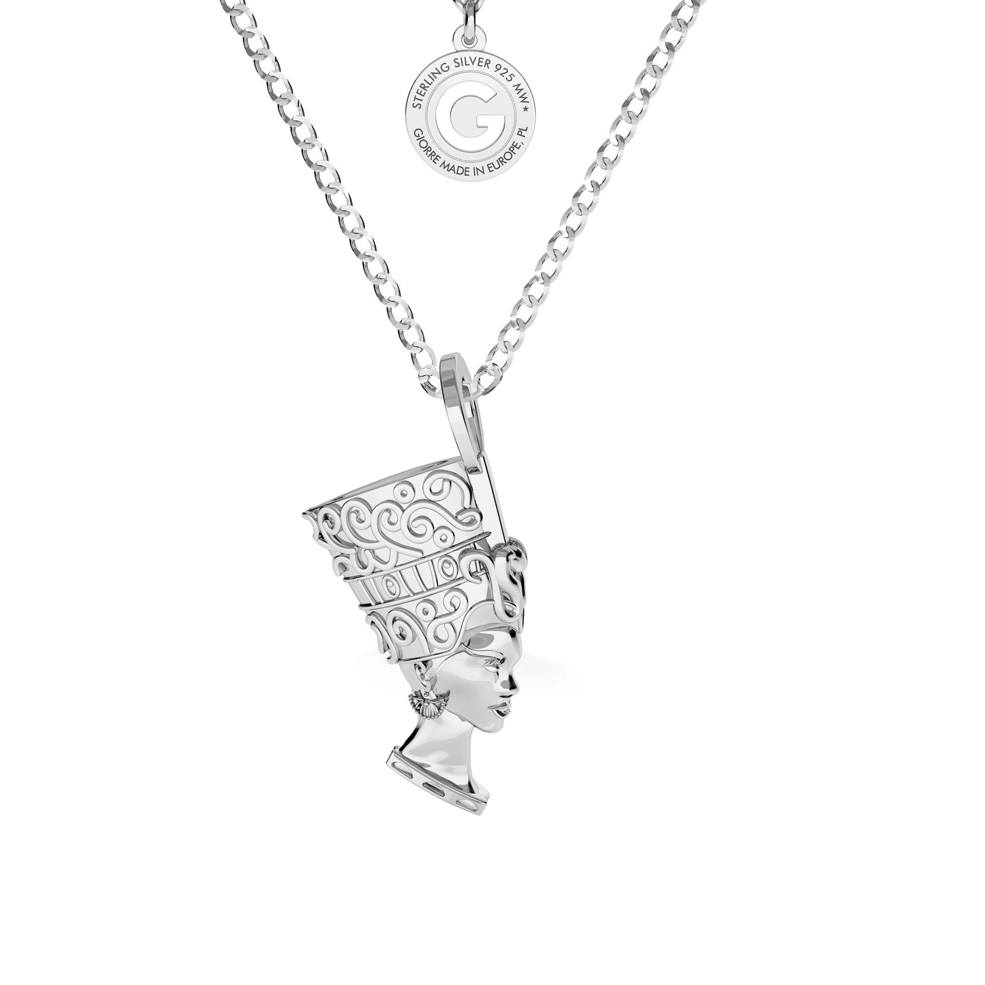 Naszyjnik KLEOPATRA srebro 925