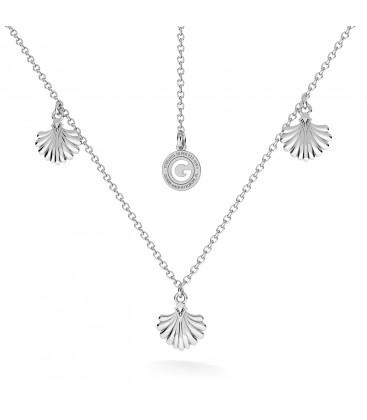 Collana conchilla shell stelle marine argento 925