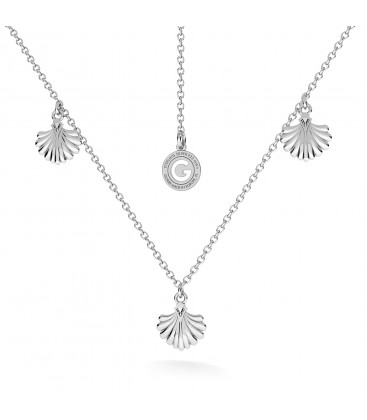 SHELLS necklace sterling silver 925