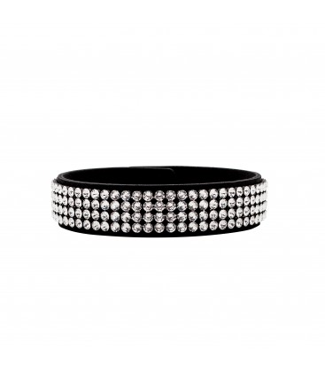 MESH BRACELET 4 ROWS WITH SWAROVSKI CRYSTALS 8R