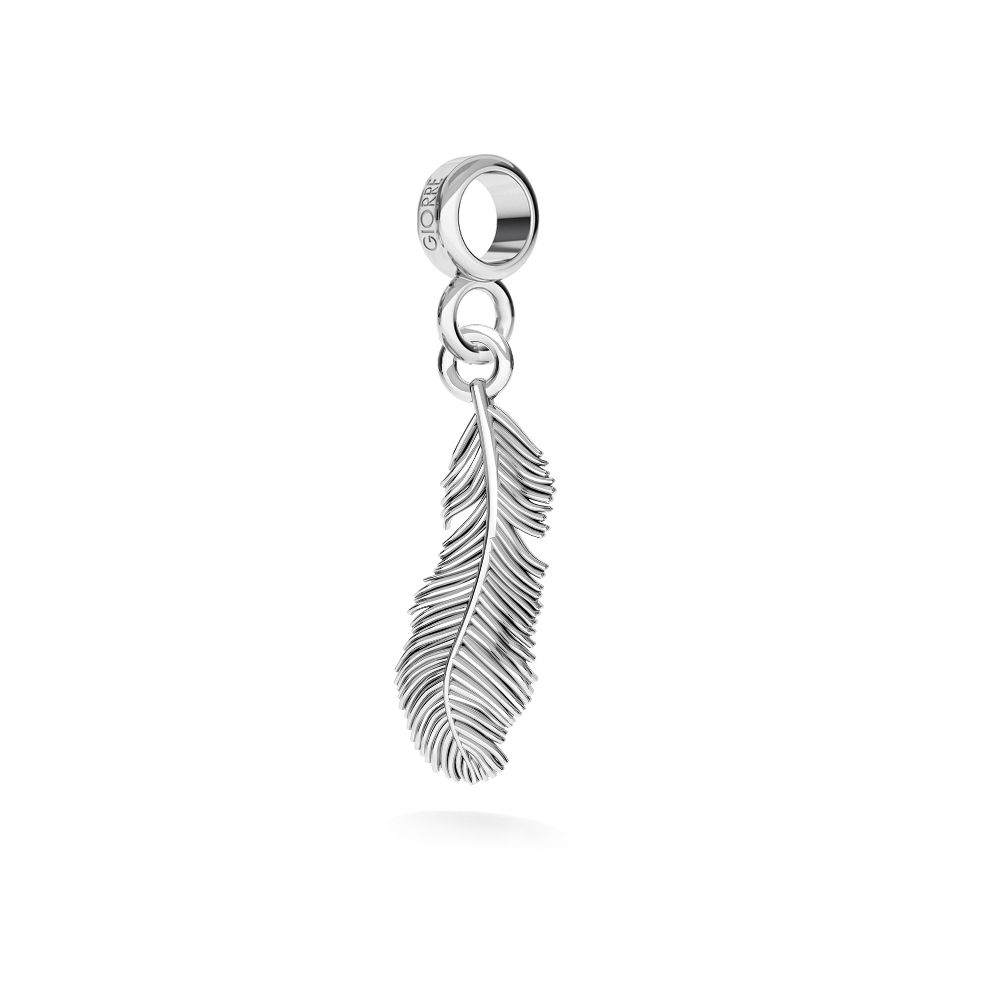 Dagger pendant charms bead sterling silver