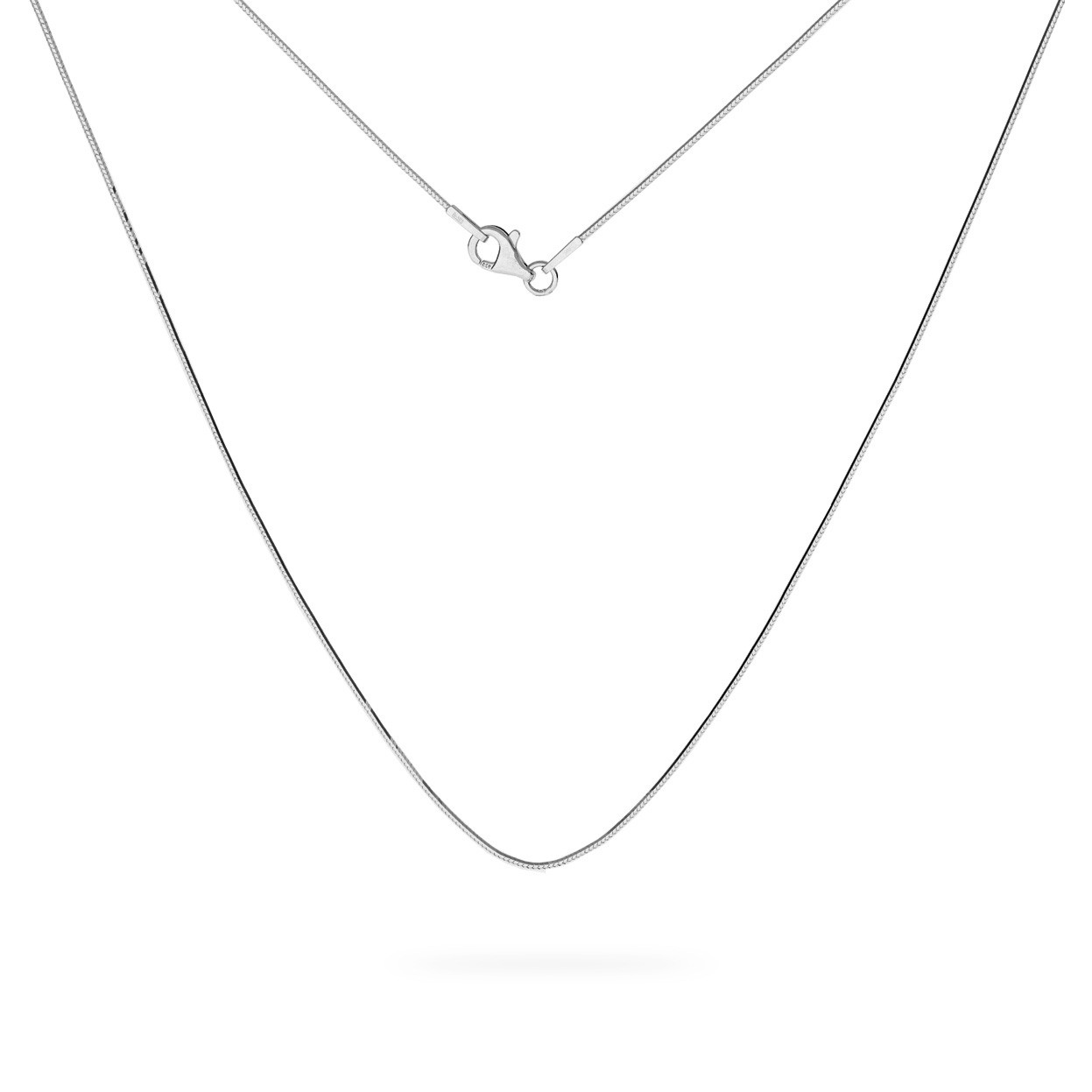 Srebrny łańcuszek linka diamentowana 925