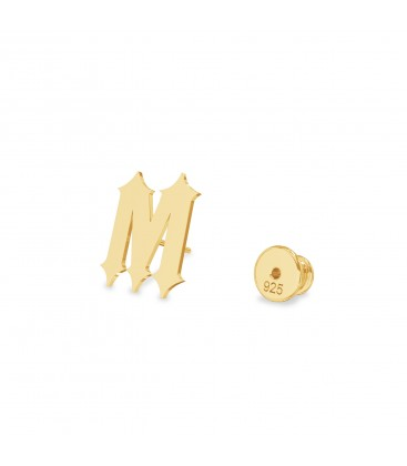 Earrings your letter MON DÉFI sterling silver 925
