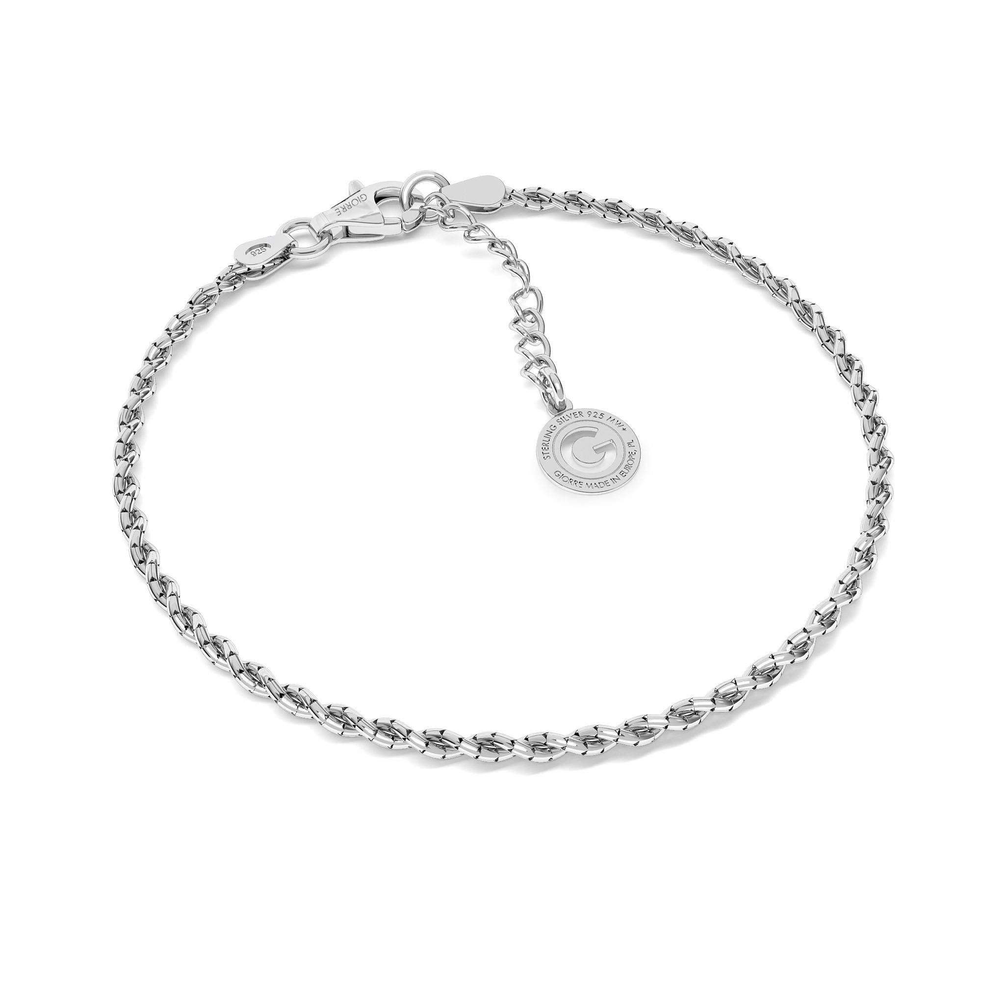 Coreana multi chain sterling silver 925