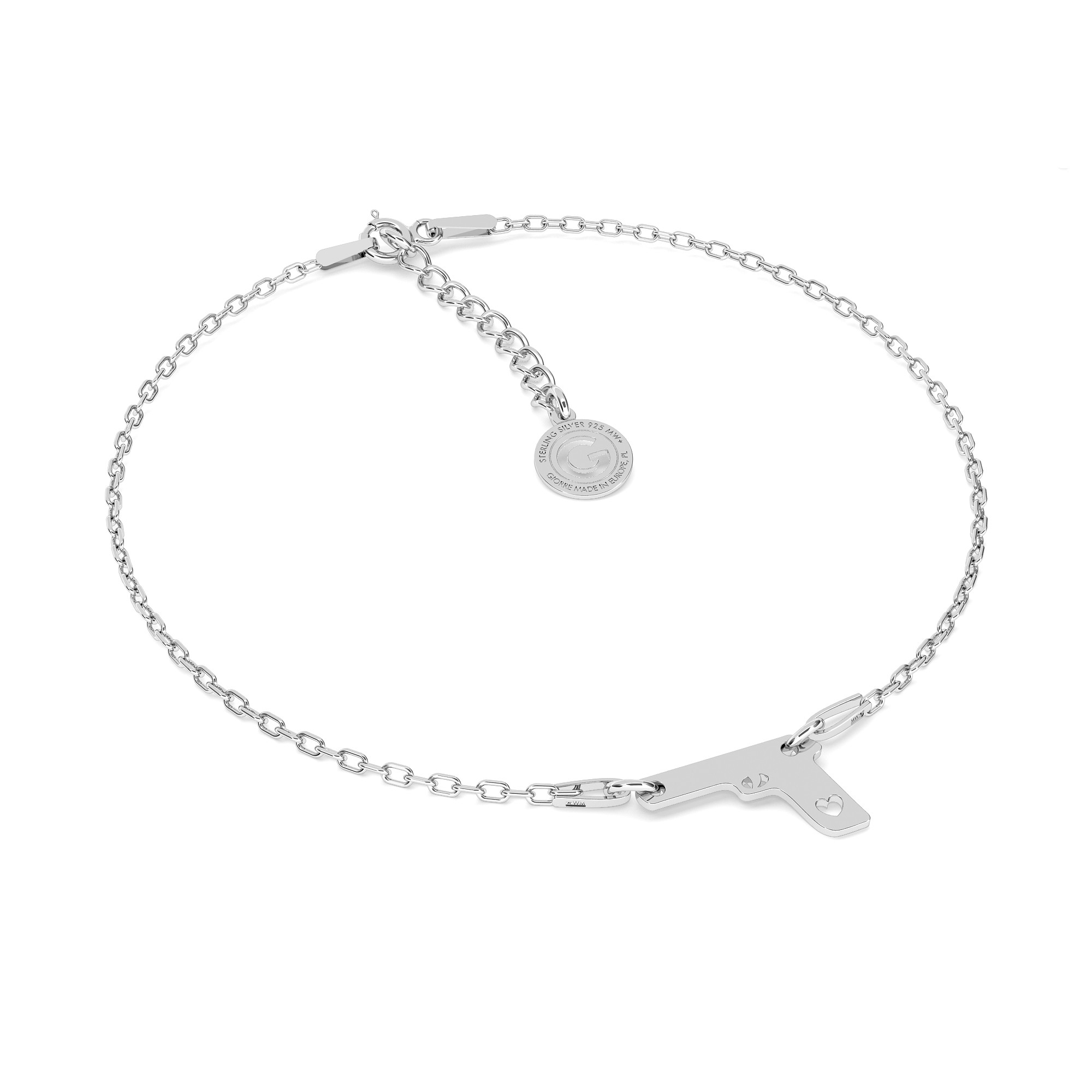 DNA formule chimique bracelet 925