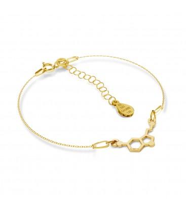 Gold armband serotonin 14k