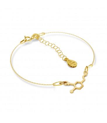 Gold bracelet dopamine