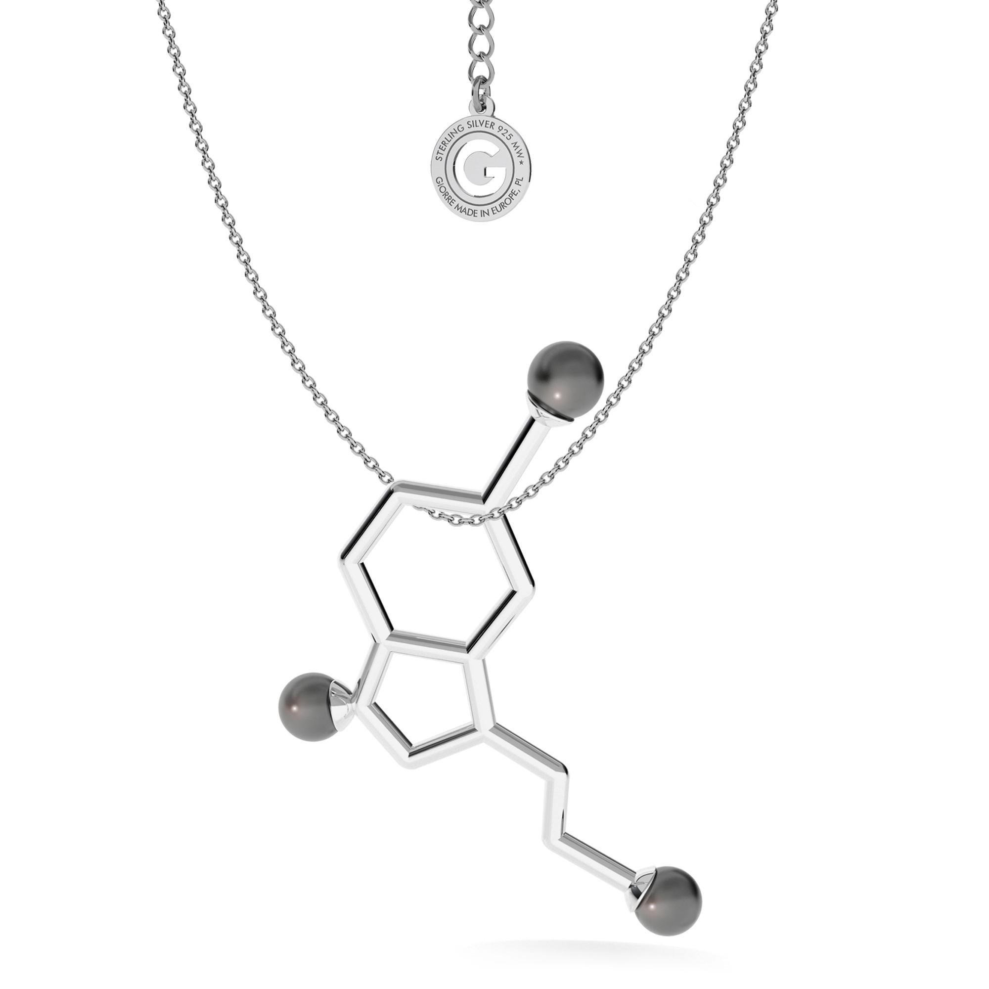 Collar serotonina fórmula química
