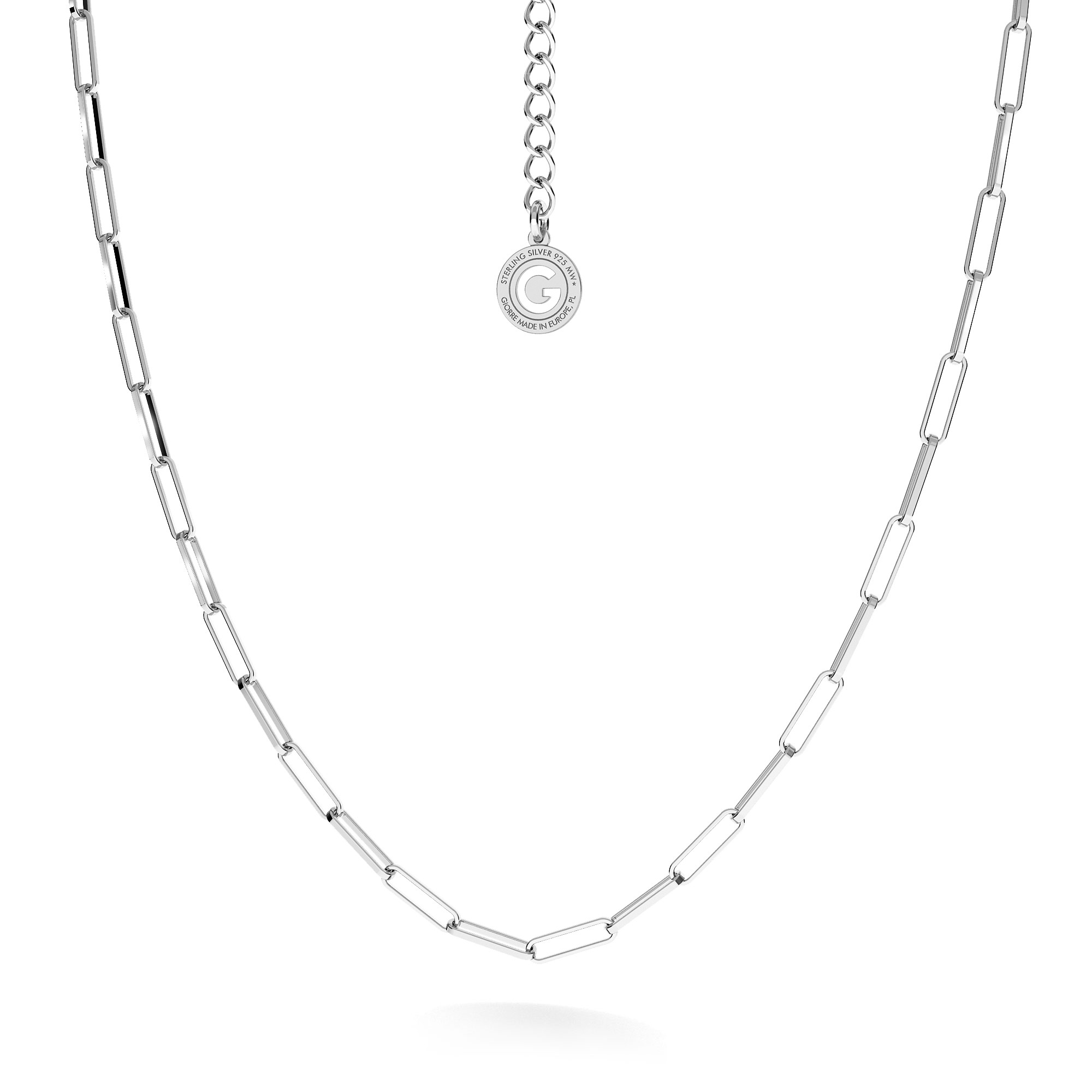 Silver chain charms base sterling silver 925