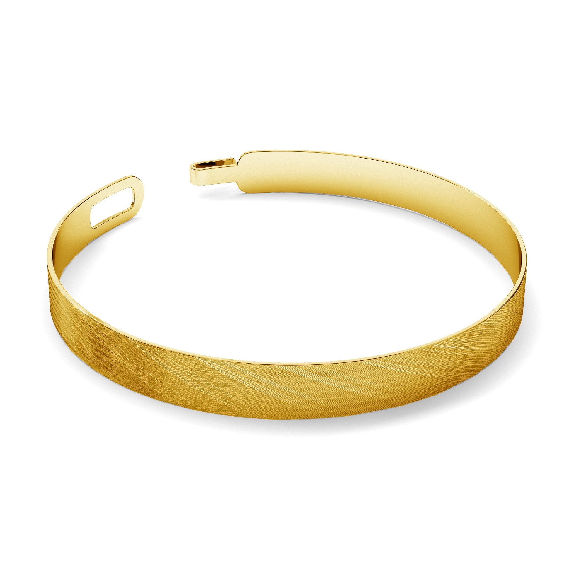 Unisex satin armband MON DÉFI silber 925