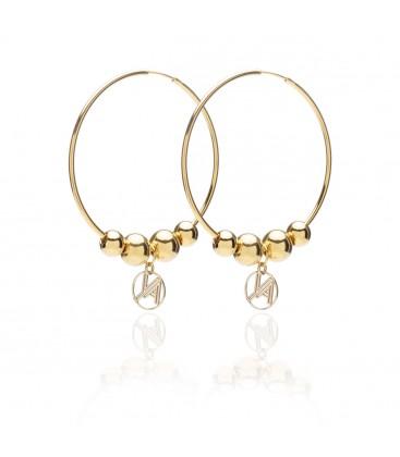 Sterling silver earrings YA 925