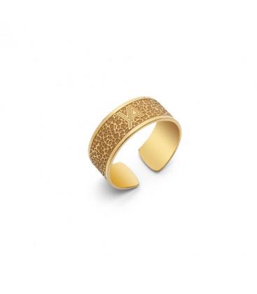 Sterling silver moon ring YA 925