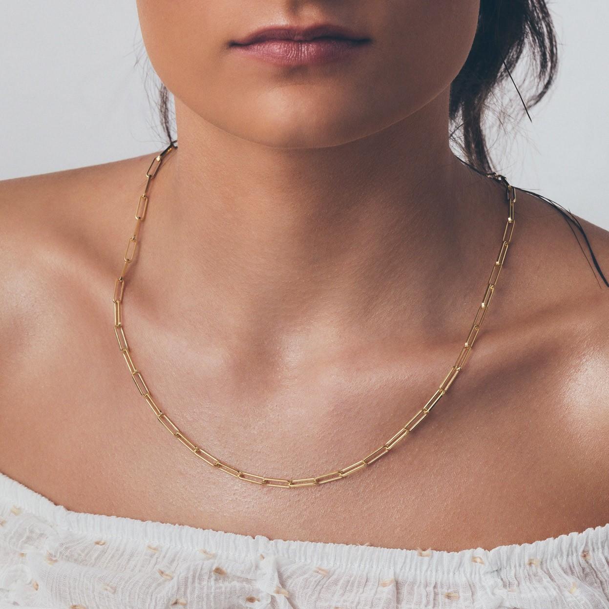 Srebrny łańcuszek do wpinania charmsów 925