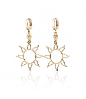 Sterling silver moon earrings YA 925