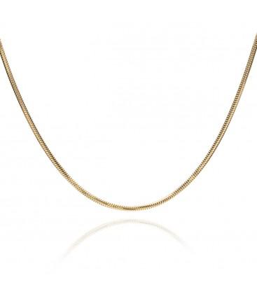 Srebrny choker łańcuszek linka, YA srebro 925