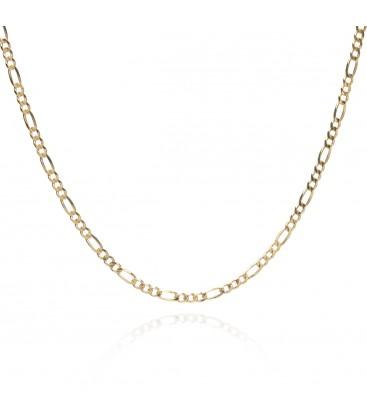 Srebrny choker łańcuszek figaro, YA srebro 925