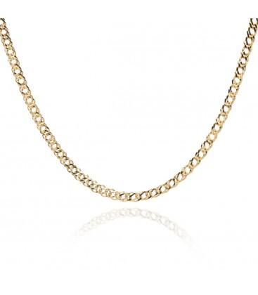 Srebrny choker łańcuszek rombo, YA srebro 925