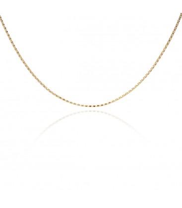 Srebrny choker łańcuszek coreana, YA srebro 925
