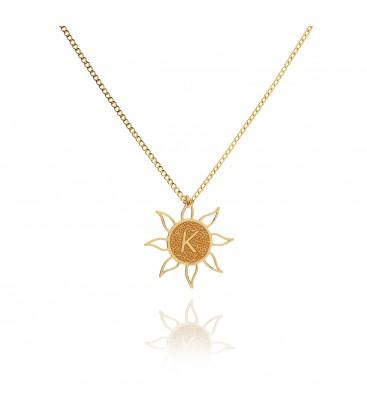 Element sun necklace YA 925