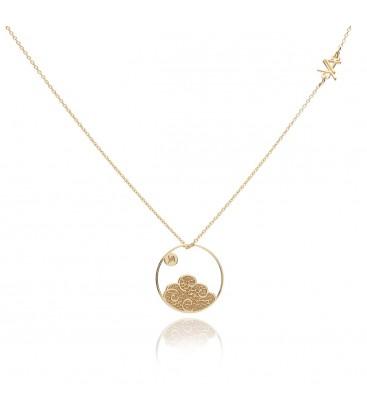 Element air necklace YA 925