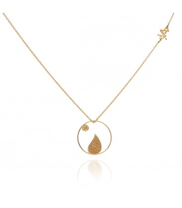 Element earth necklace YA 925