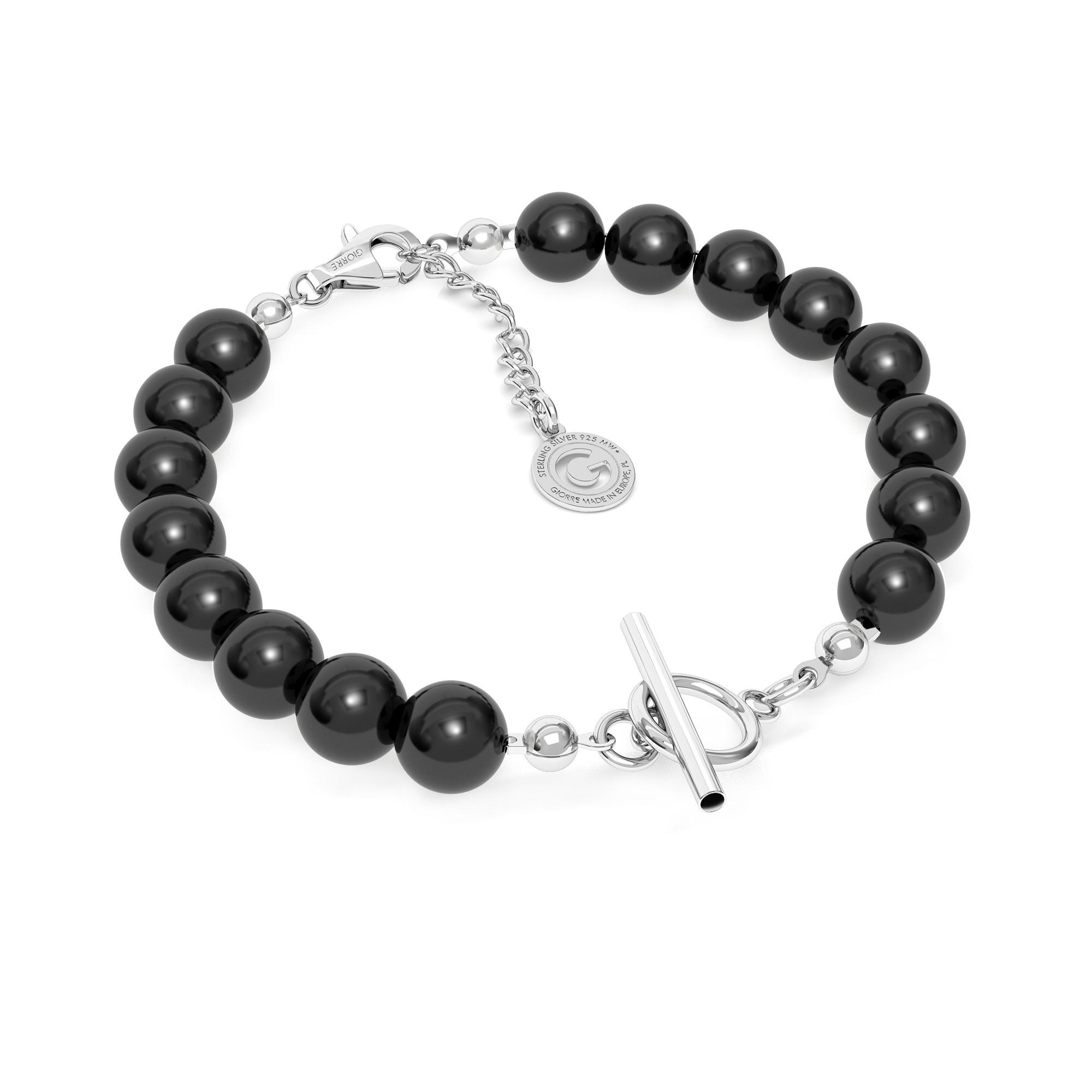 Perlen armband sterling silber 925