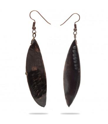 Miedziane kolczyki kakaowiec