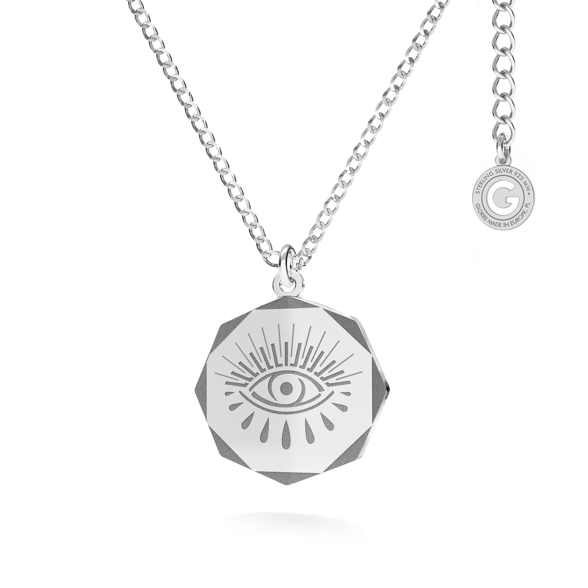 Halskette Auge des Horus MON DÉFI silber 925