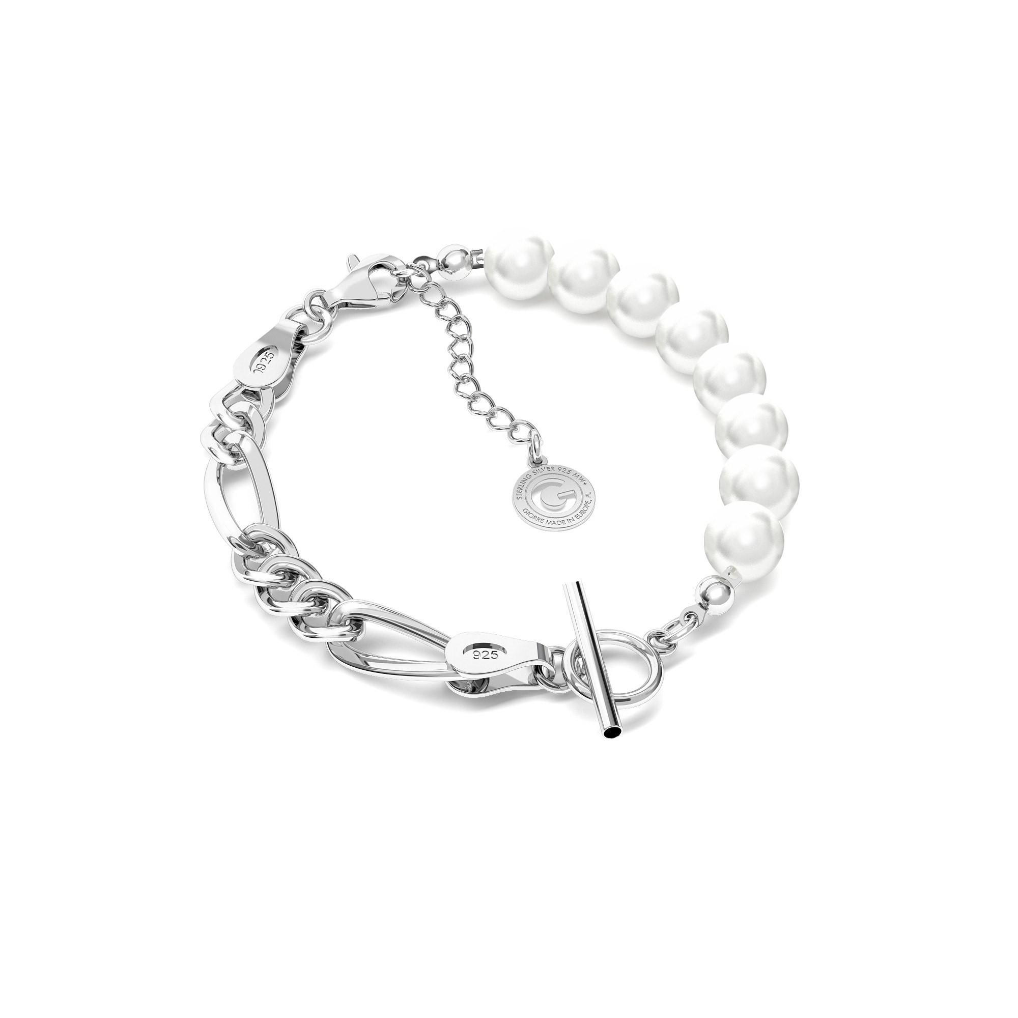 Bracelet de perles MON DÉFI argent 925