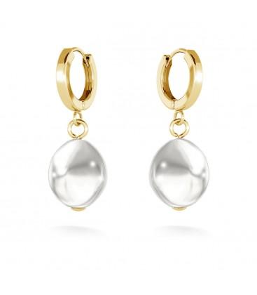 Orecchini con perle, MON DÉFI argento 925