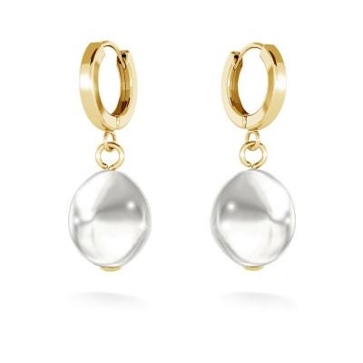 Ohrringe mit perlen, MON DÉFI silber 925