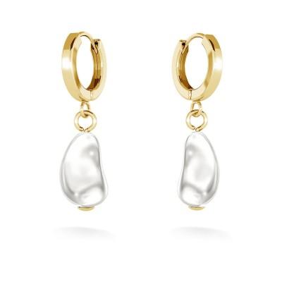Pendientes con perlas, MON DÉFI plata 925