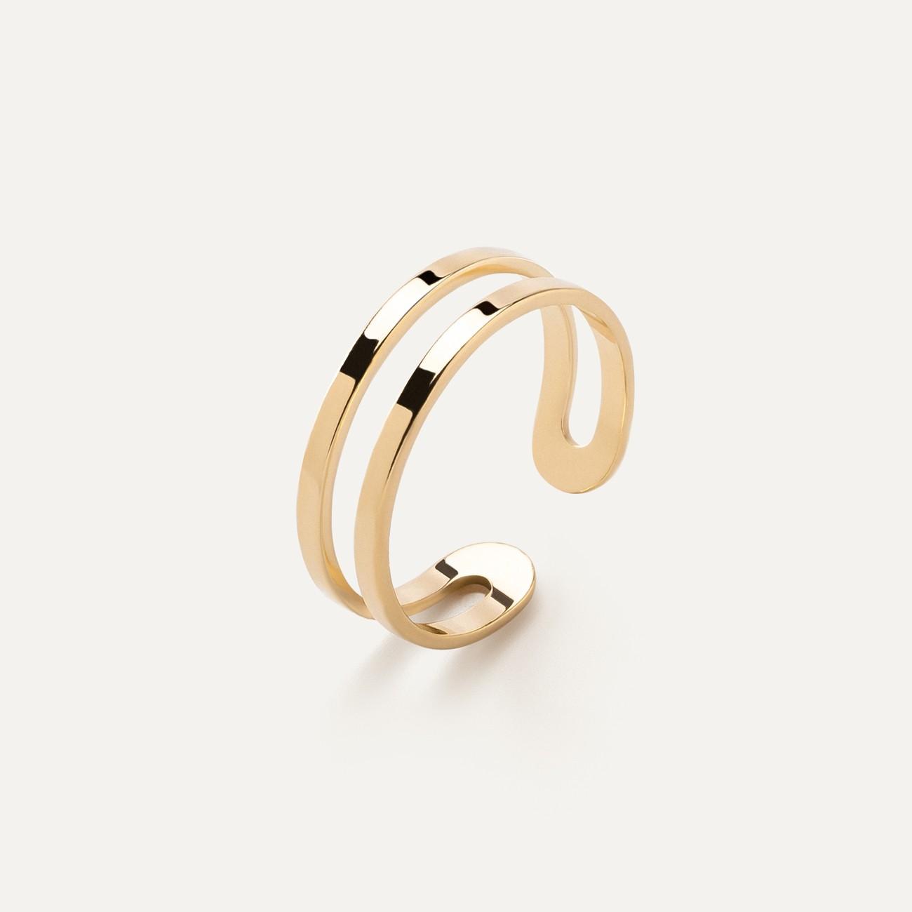 Srebrny pierścionek na kciuk